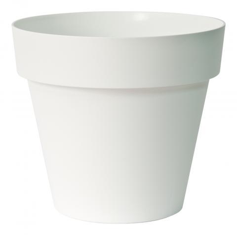 Plastic Bloempot Wit.Betaalbare Kunststof Buiten Bloempot Wit O35cm 12 95