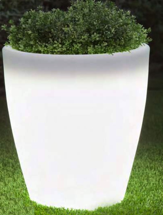 Newgarden Violeta 40 Ø40XH43 cm verlichte bloempot