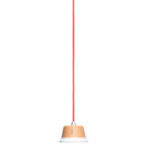 Bulbo Cynara 7 Watt met rode kabel