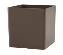 Bloempot Cubo 30,5x30,5x30,5 cm Glossy Taupe