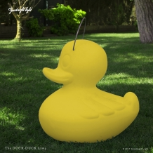 Goodnight Light Duck Duck lamp XL Geel (oplaadbaar)
